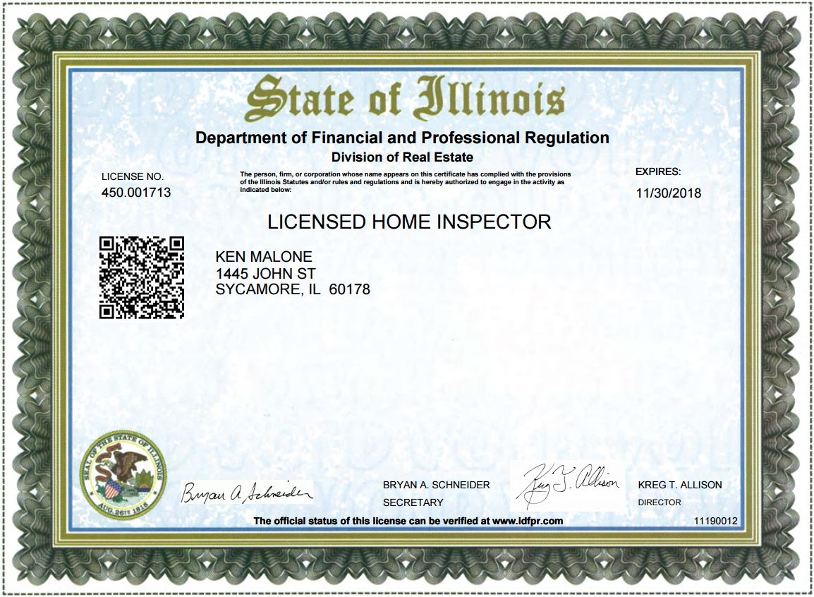 how to get home inspection license